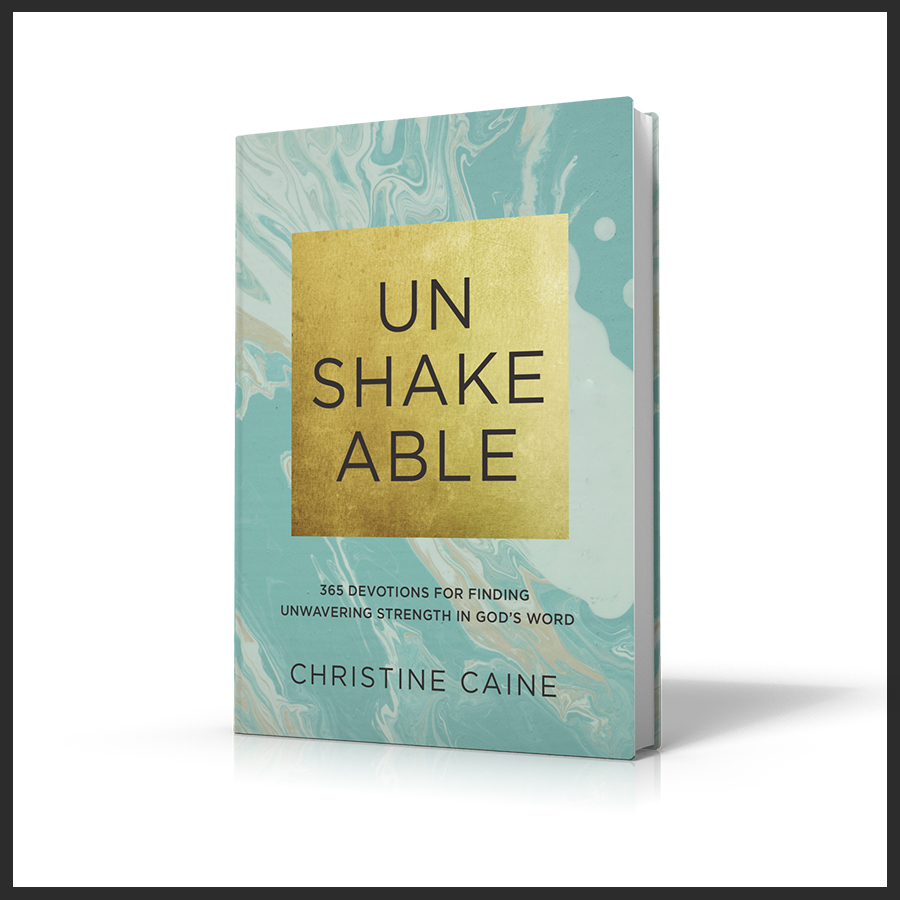 Unshakeable Devotional, Christine Caine