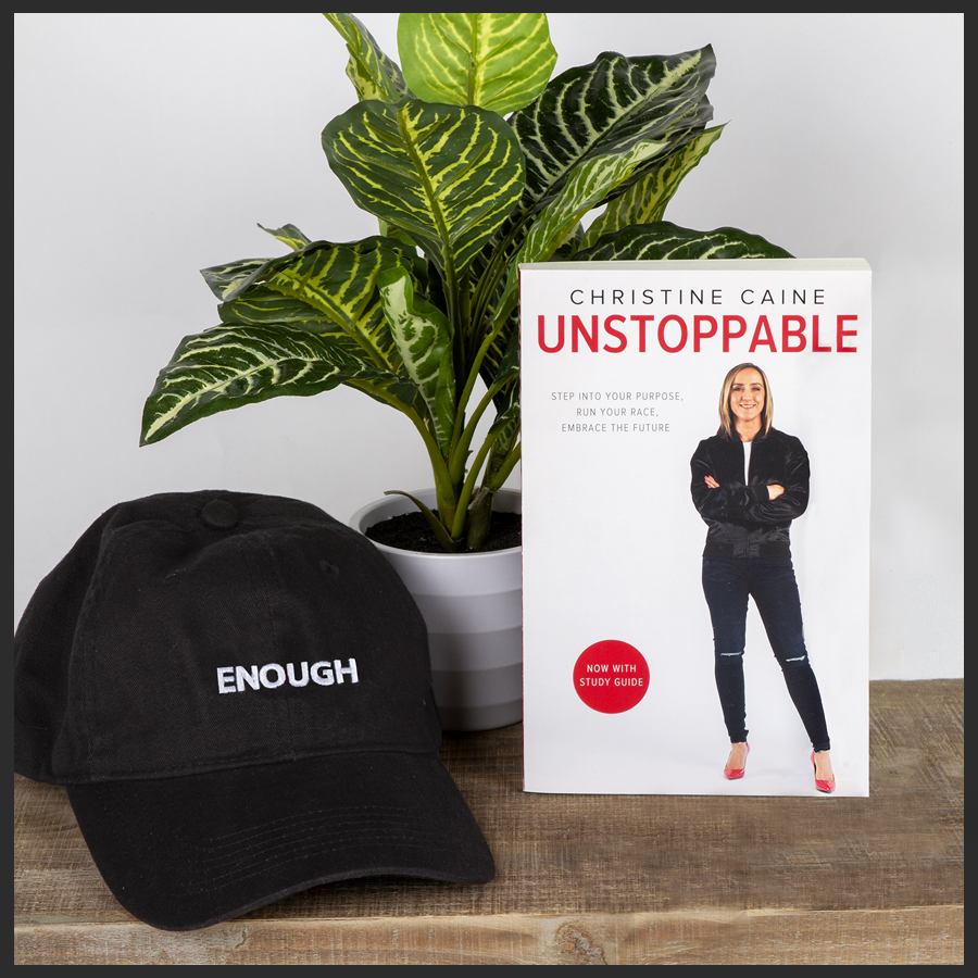 Unstoppable Book, ENOUGH Hat